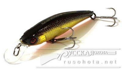 Воблер Jackall Squad Minnow 80SP hl gold & black