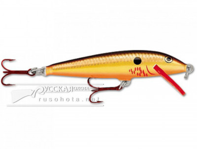 Воблер Rapala F-09 BCF 5гр. BleedingCopperFlash
