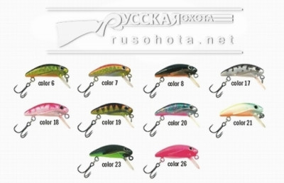 Воблер Maruto Miracle Wing Minnow 3S 3гр. VM-MWM-3S-21