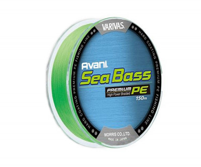 Шнур Varivas Avani  Sea Bass 150м 0,8