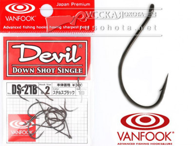 Крючки Vanfook Devil DS-21B №3